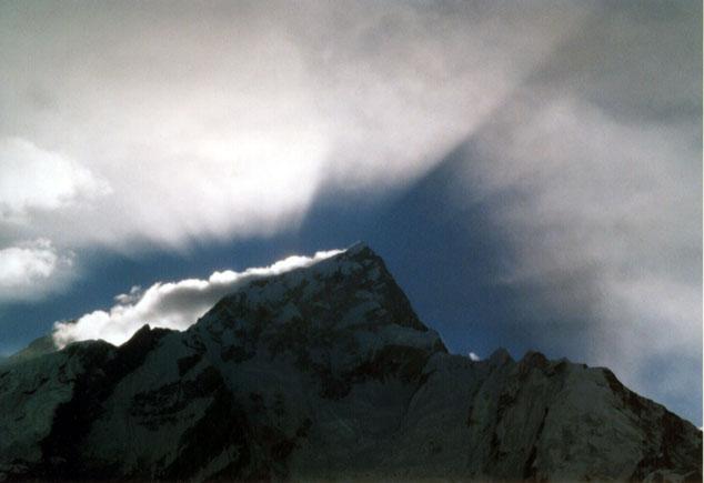 Sonnenaufgang am Nupse (Nepal)