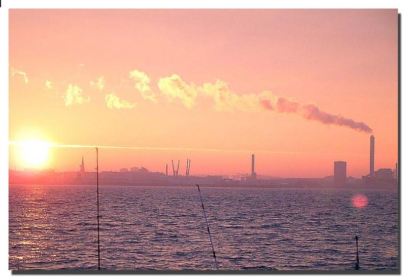 Sonnenaufgang am Öresund