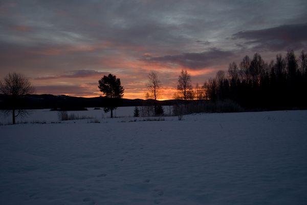 Sonnenaufgang am Övre Brocken II....