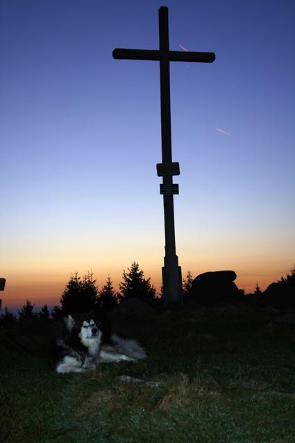 Sonnenaufgang am Pröller
