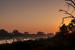 Sonnenaufgang am Sabie River