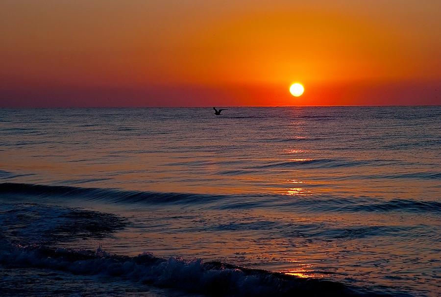 Sonnenaufgang am Schwarzen Meer