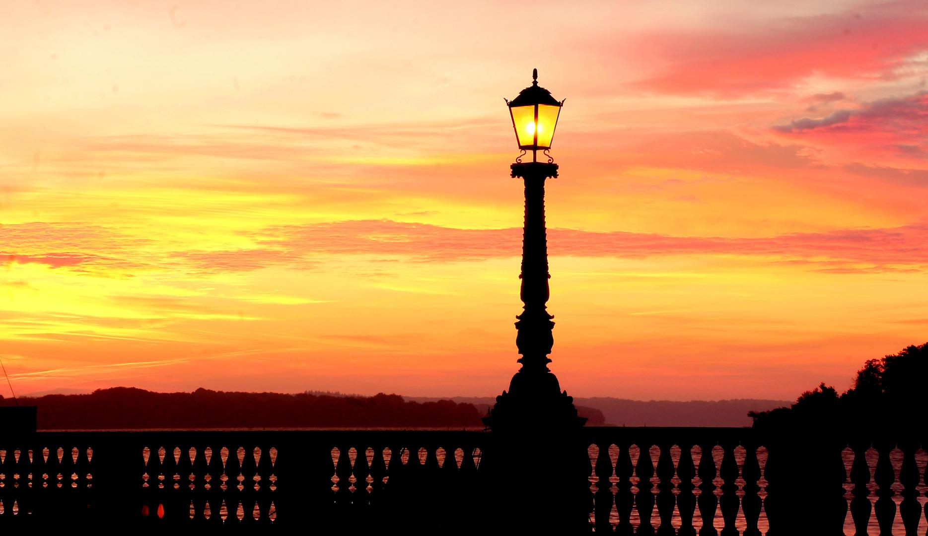 Sonnenaufgang am Schweriner See (2)