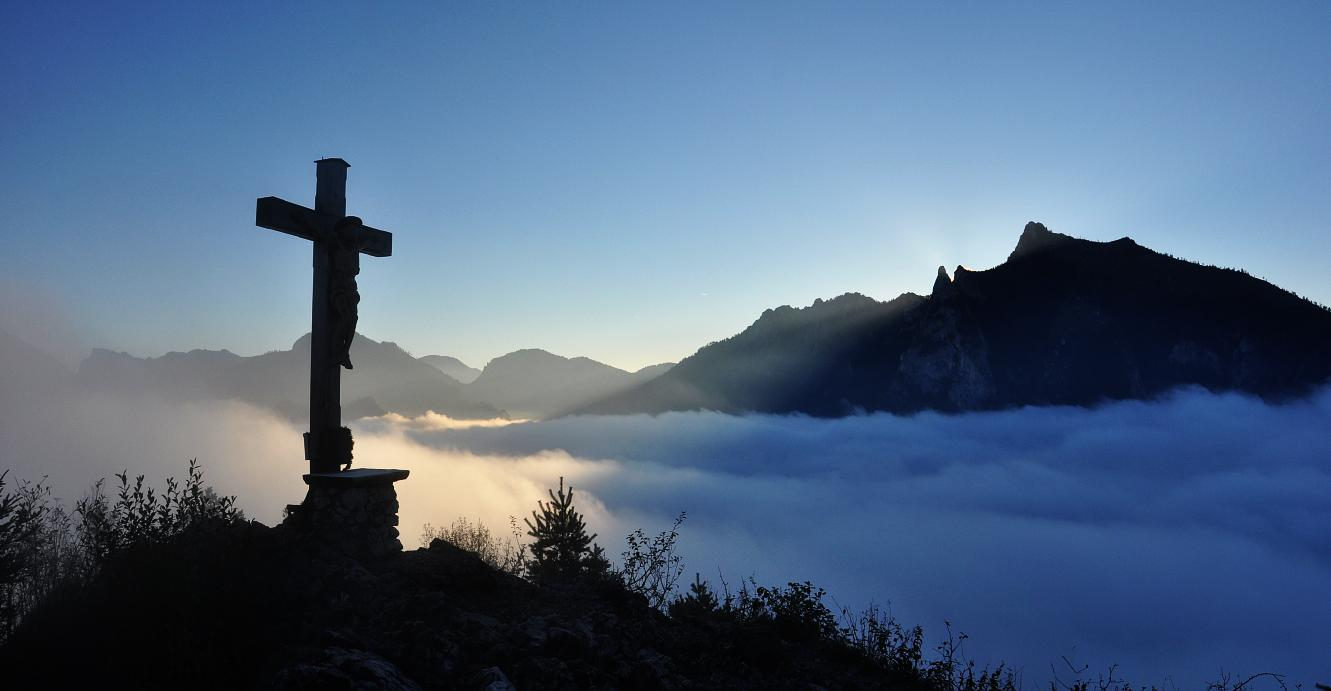 Sonnenaufgang am Sonnstein