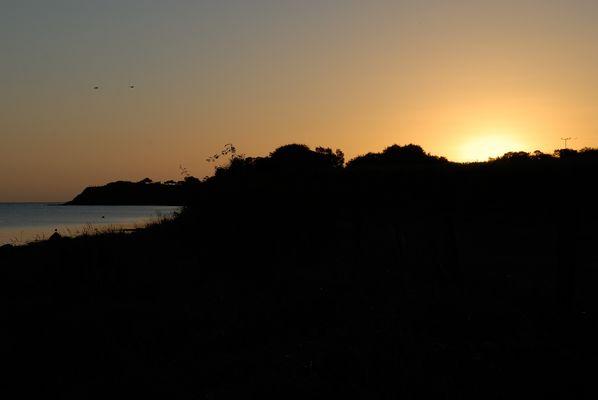 Sonnenaufgang am Strand von Habernis II