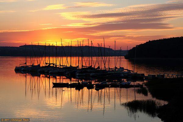 Sonnenaufgang am Südufer