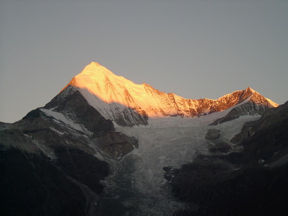 Sonnenaufgang am Weishorn
