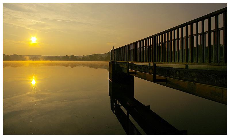 Sonnenaufgang am Wiesensee