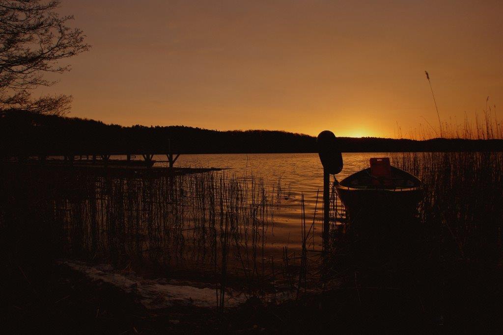Sonnenaufgang am Wolgastsee