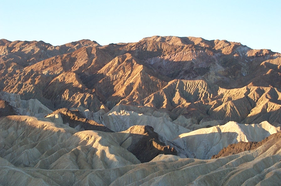 Sonnenaufgang am Zabriskie Point, Death Valley