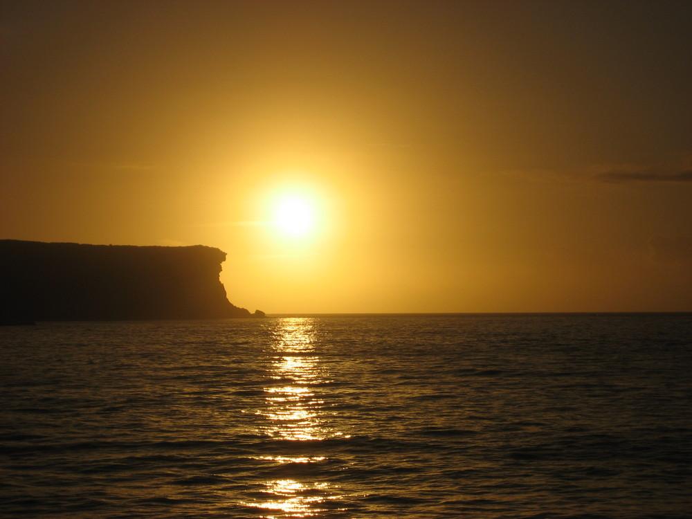 Sonnenaufgang an den Sydney Heads