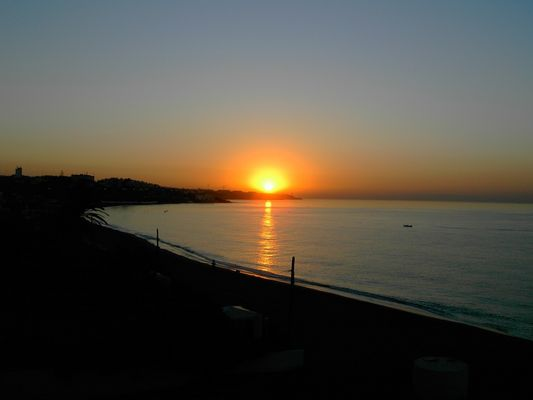 Sonnenaufgang an der Costa del Sol
