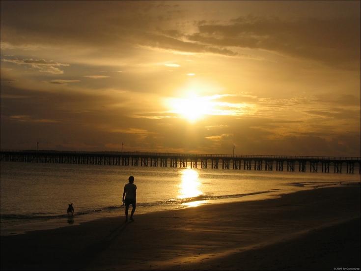 Sonnenaufgang an der Ostküste Australiens