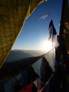 Sonnenaufgang auf 4000m