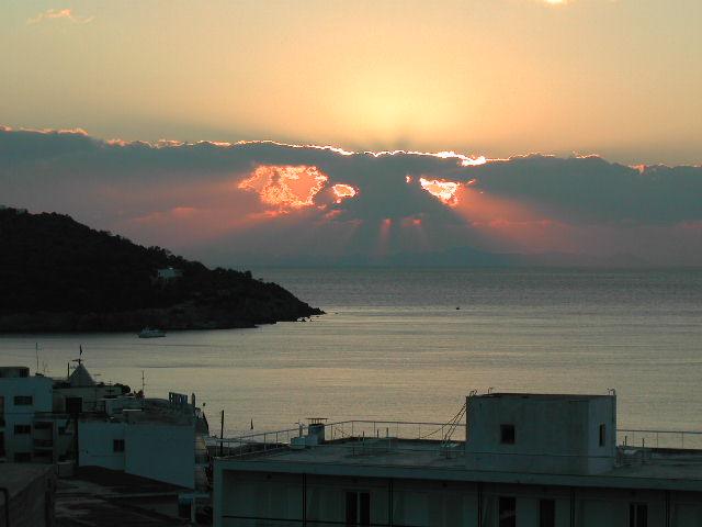 Sonnenaufgang auf Aegina