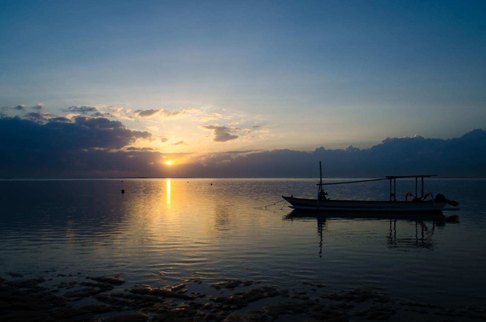 Sonnenaufgang auf Bali
