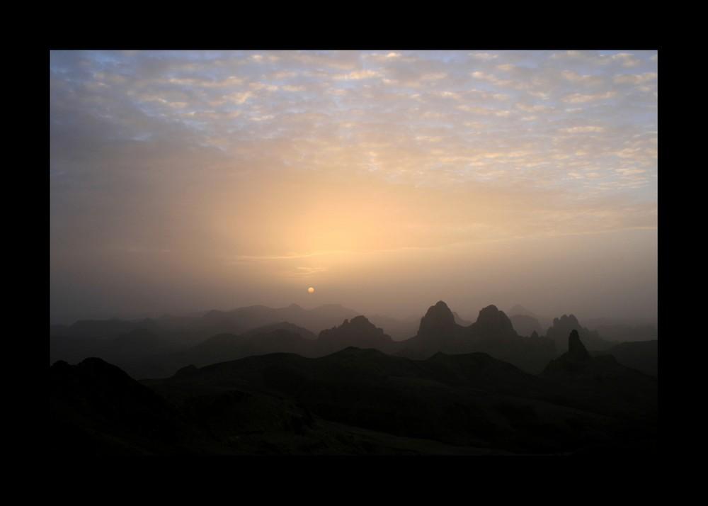 Sonnenaufgang auf dem Assekrem
