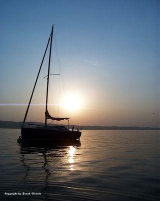 Sonnenaufgang auf dem Bodensee
