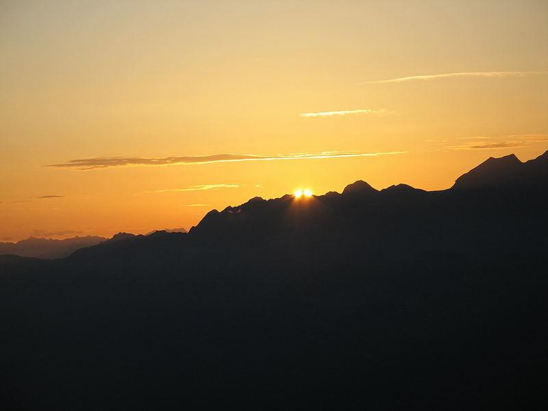 Sonnenaufgang auf dem Eggishorn (3991)