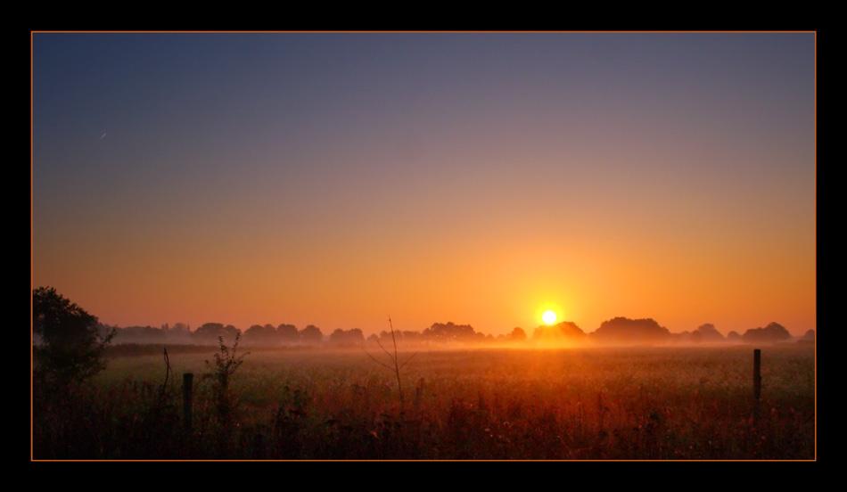 Sonnenaufgang auf dem Lande Part 6