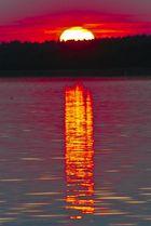 Sonnenaufgang auf der Müritz