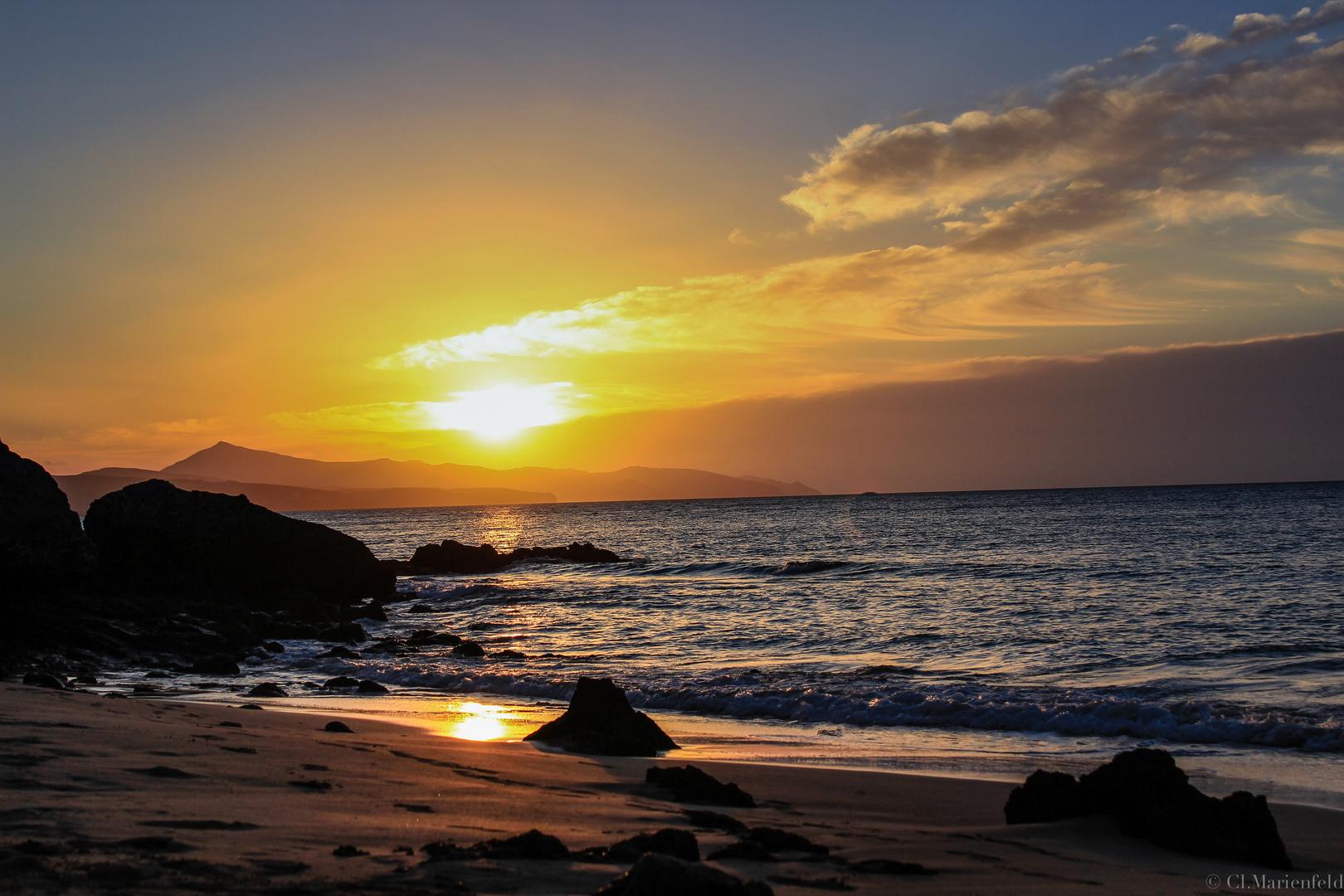 Sonnenaufgang auf Fuerteventura