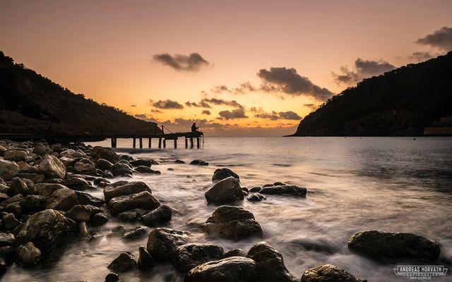 Sonnenaufgang auf Ibiza