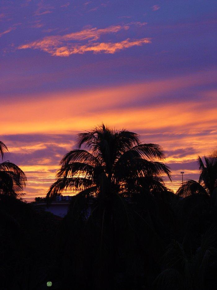 Sonnenaufgang auf Kuba