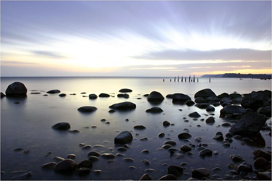 Sonnenaufgang auf Rügen
