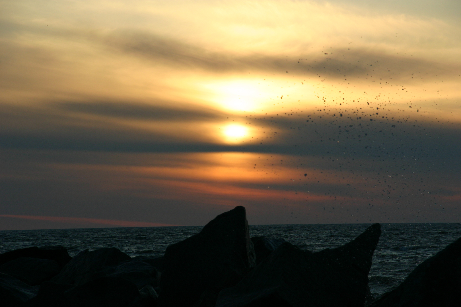 Sonnenaufgang auf Rügen :)