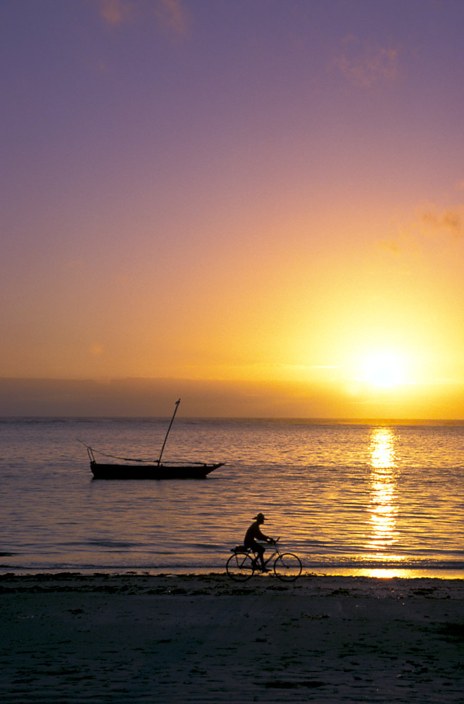 Sonnenaufgang auf Sansibar (2)