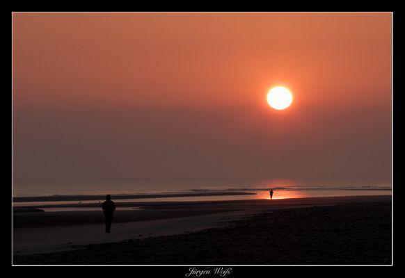 Sonnenaufgang auf Spiekeroog
