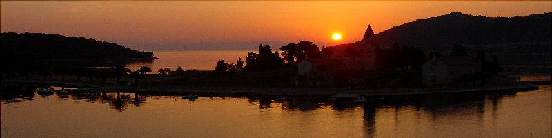 Sonnenaufgang auf Vis