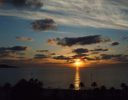 Sonnenaufgang......