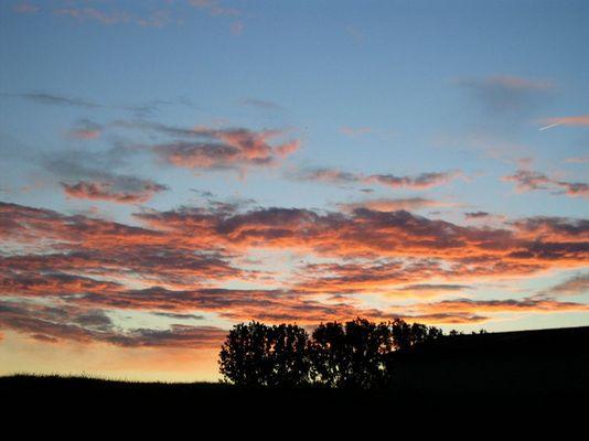 Sonnenaufgang bei Alsfeld