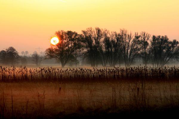 Sonnenaufgang bei Glentorf