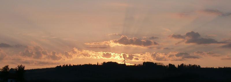 Sonnenaufgang bei Haldenwang