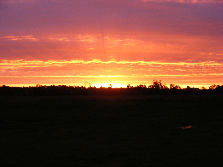 Sonnenaufgang bei Kiel