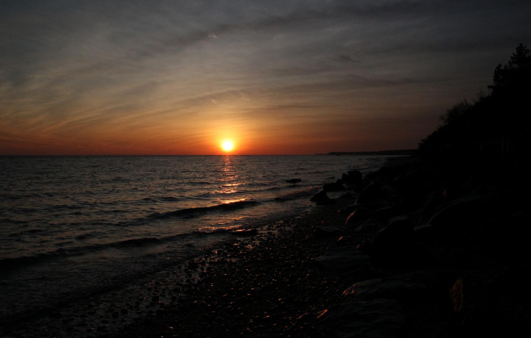 Sonnenaufgang bei Rocky Point