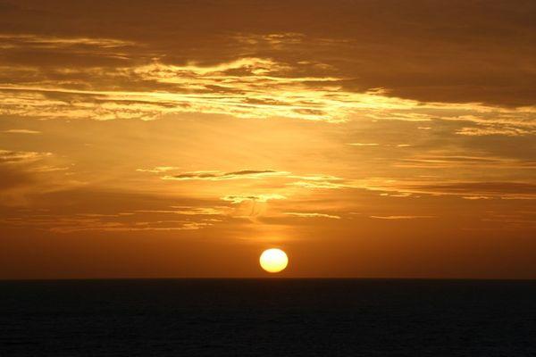 Sonnenaufgang bei San Agustin/Gran Canaria
