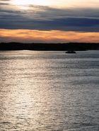 Sonnenaufgang bei Stockholm
