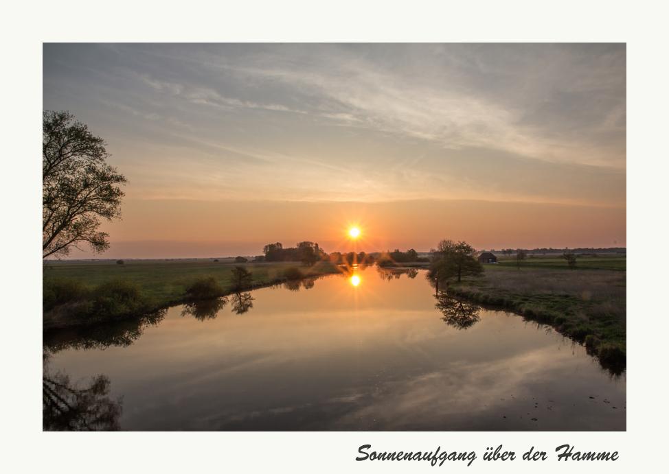 Sonnenaufgang bei Tietjen´s Hütte