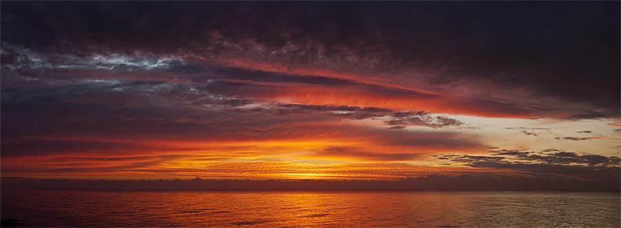 Sonnenaufgang beim Schwansener See
