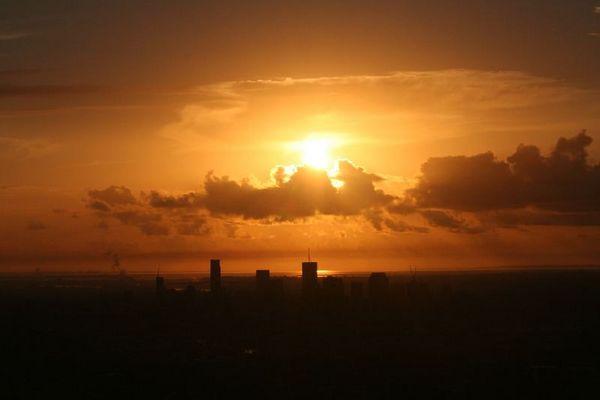 Sonnenaufgang Brisbane 5