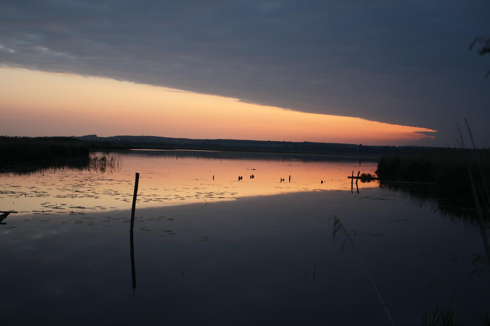 Sonnenaufgang Buchau