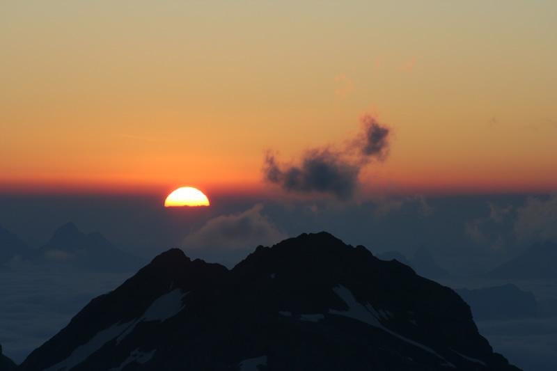 Sonnenaufgang CH-Nationalfeiertag