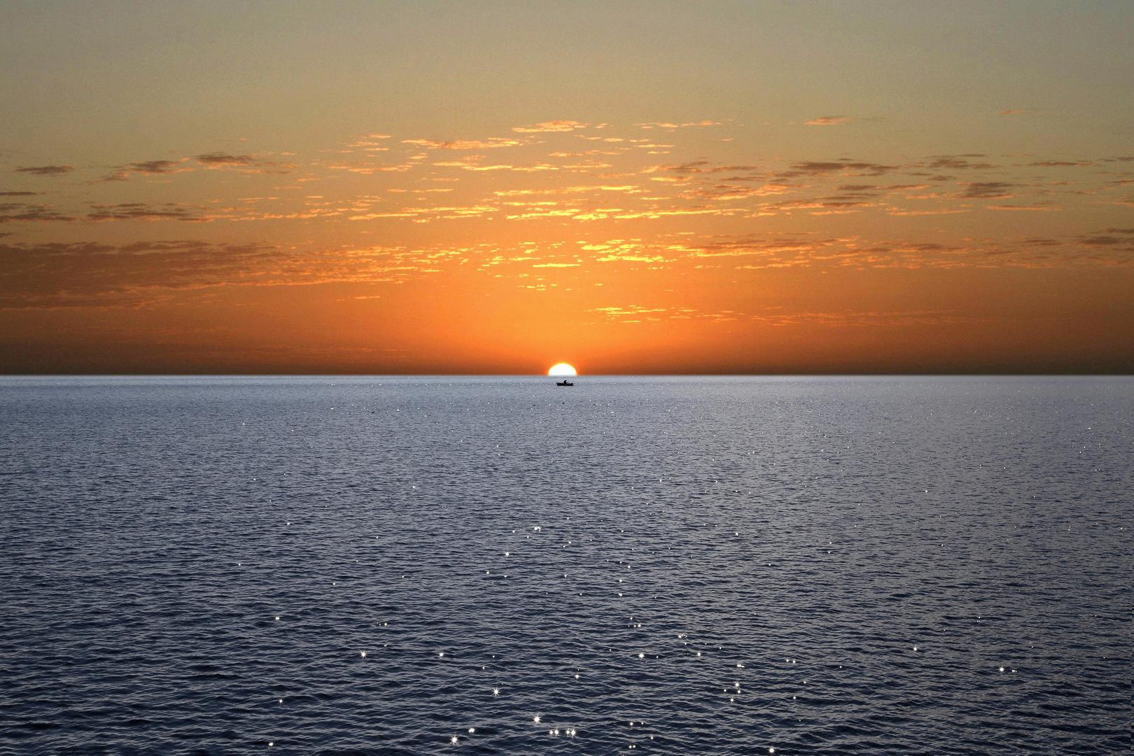 Sonnenaufgang d