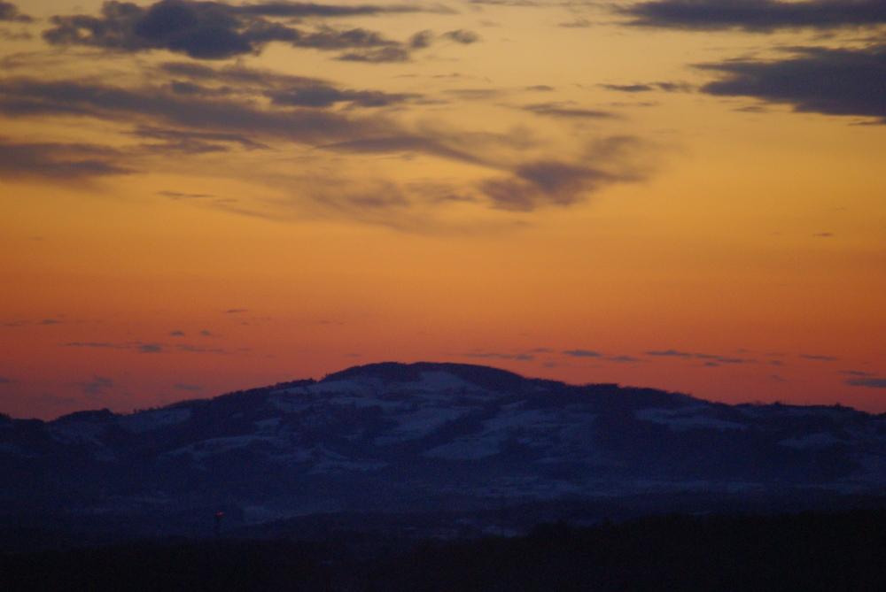 Sonnenaufgang Deutschlandsberg (Stmk) 07:00