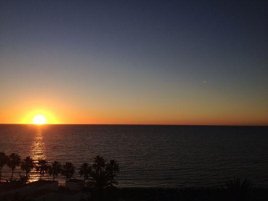 Sonnenaufgang Dez. 12