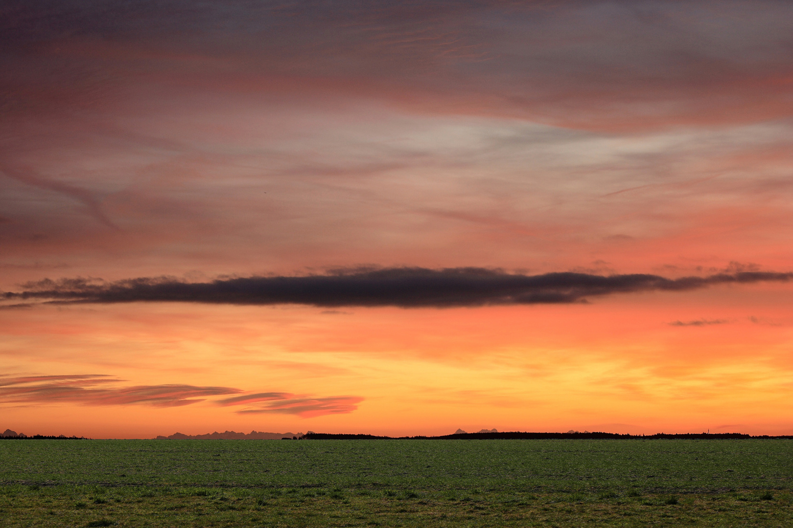 Sonnenaufgang e